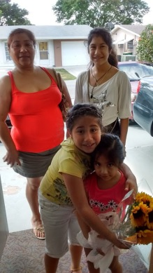 Angela y sus sobrinas