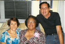 Jael, Omaira y Alberto