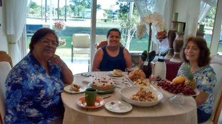 Omaira, Massyel y Martha